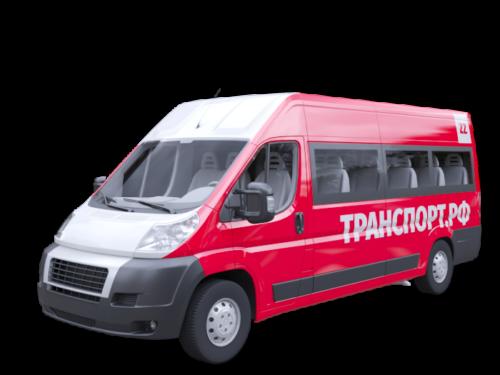 Полное брендирование малого автобуса