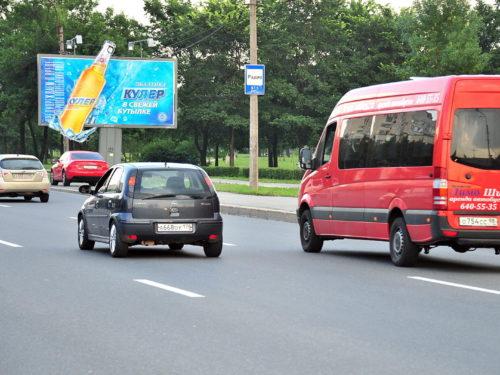 Щит Московское шоссе/площадь Победы